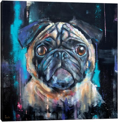 Cosmic Ernie Canvas Art Print