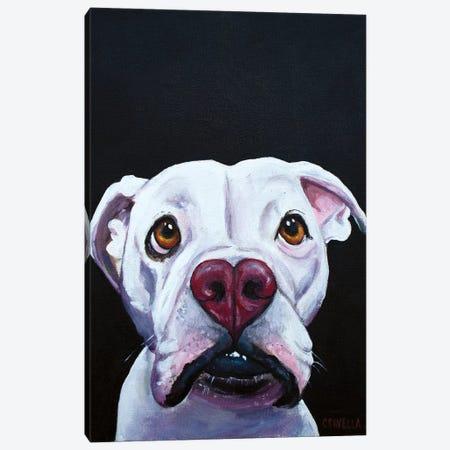 I Woof You Canvas Print #SVL7} by Christine Savella Canvas Art Print