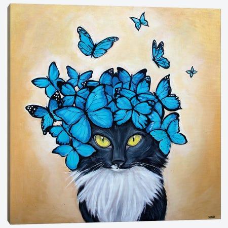 Mrs. Hudson Canvas Print #SVL9} by Christine Savella Canvas Wall Art