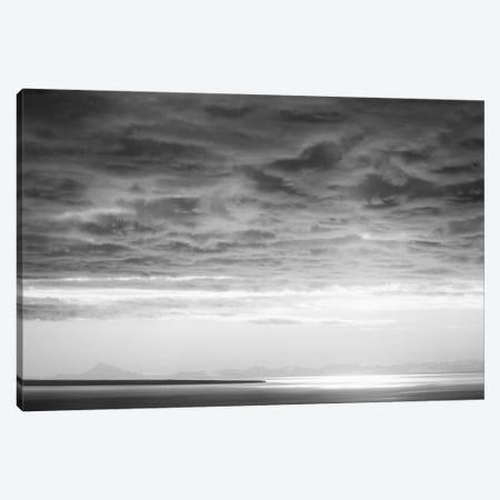 Black & White Cloud Formation Canvas Print #SVN10} by Savanah Plank Canvas Art Print