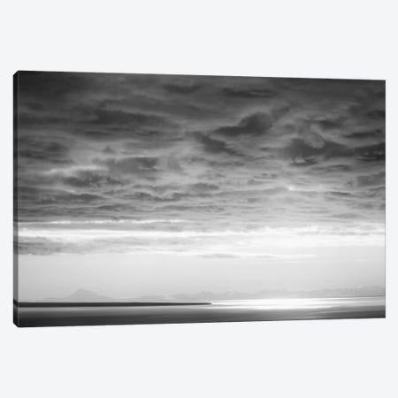 Black & White Cloud Formation Canvas Print #SVN10} by Savanah Plank Canvas Art Print