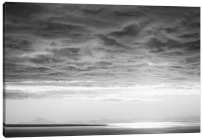 Black & White Cloud Formation Canvas Art Print