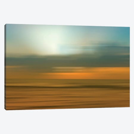Blurred Sunset, Kauai, Hawaii, USA Canvas Print #SVN13} by Savanah Plank Canvas Print