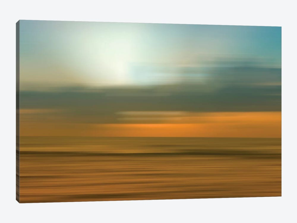 Blurred Sunset, Kauai, Hawaii, USA by Savanah Plank 1-piece Canvas Print
