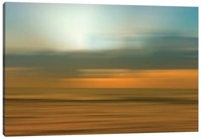 Blurred Sunset, Kauai, Hawaii, USA Canvas Art Print