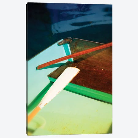 Colorful Dinghy 3-Piece Canvas #SVN24} by Savanah Plank Canvas Art Print