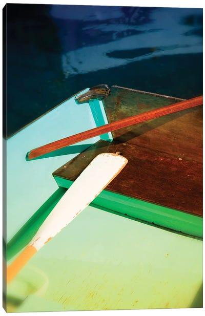 Colorful Dinghy Canvas Art Print