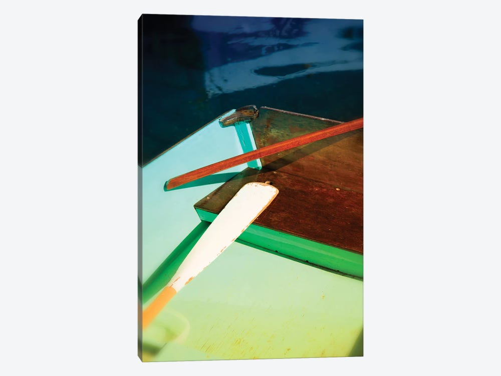 Colorful Dinghy by Savanah Plank 1-piece Canvas Print
