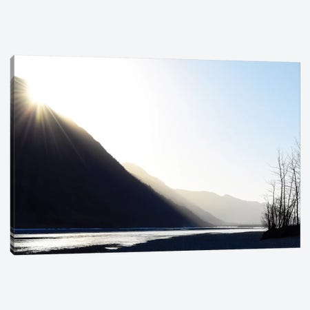 Knik River, Southern Alaska I Canvas Print #SVN31} by Savanah Plank Canvas Art Print