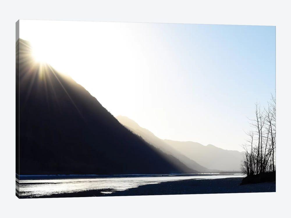 Knik River, Southern Alaska I by Savanah Plank 1-piece Art Print