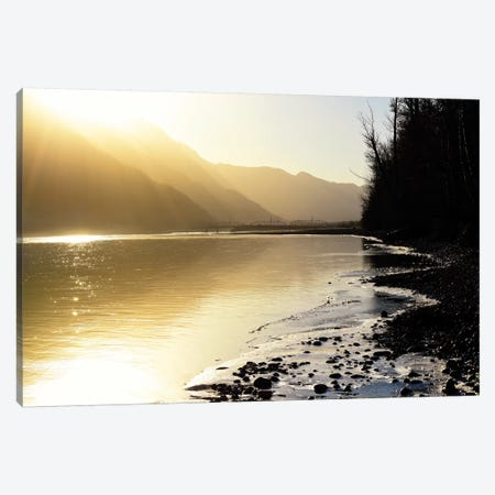 Knik River, Southern Alaska III Canvas Print #SVN33} by Savanah Plank Canvas Print