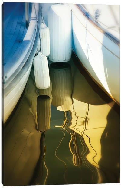 Sailboat Summertime Harbor Canvas Art Print