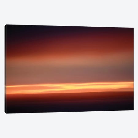 Abstract Sunset II Canvas Print #SVN4} by Savanah Plank Art Print