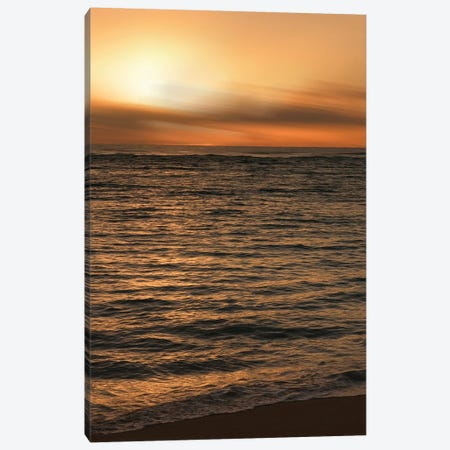 Sunset, Kauai, Hawaii, USA II Canvas Print #SVN51} by Savanah Plank Art Print