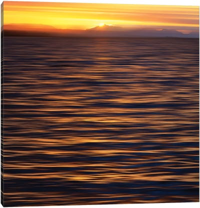 Sunset, Ketchikan, Southeast Alaska II Canvas Art Print