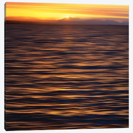 Sunset, Ketchikan, Southeast Alaska II Canvas Print #SVN53} by Savanah Plank Canvas Art Print