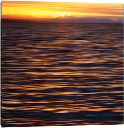 Sunset, Ketchikan, Southeast Alaska II Canvas Art Print
