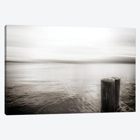View From Pier, Alki Beach, Seattle, Washington I Canvas Print #SVN56} by Savanah Plank Canvas Wall Art