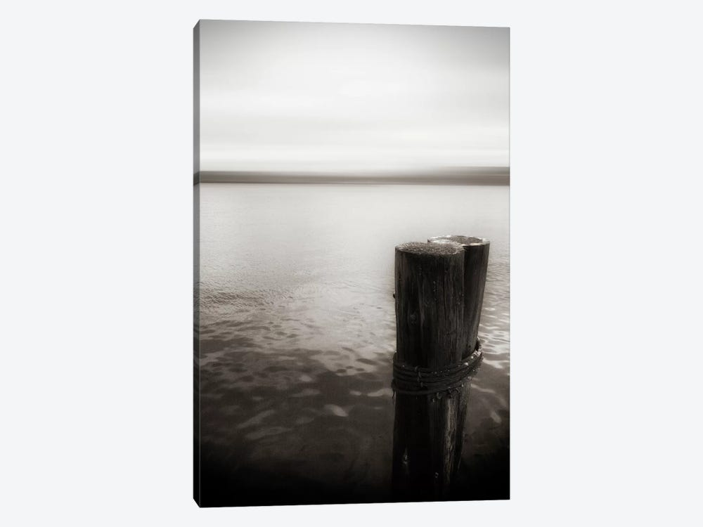 View From Pier, Alki Beach, Seattle, Washington II 1-piece Canvas Print