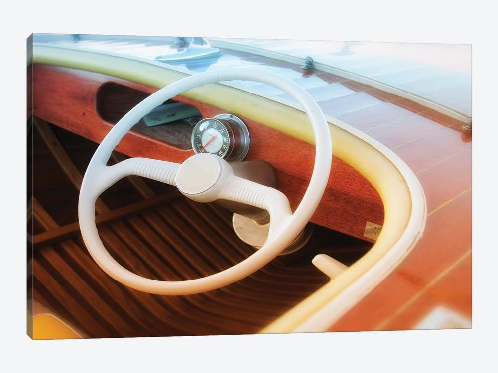 Vintage Speed Boat by Savanah Plank 1-piece Canvas Artwork
