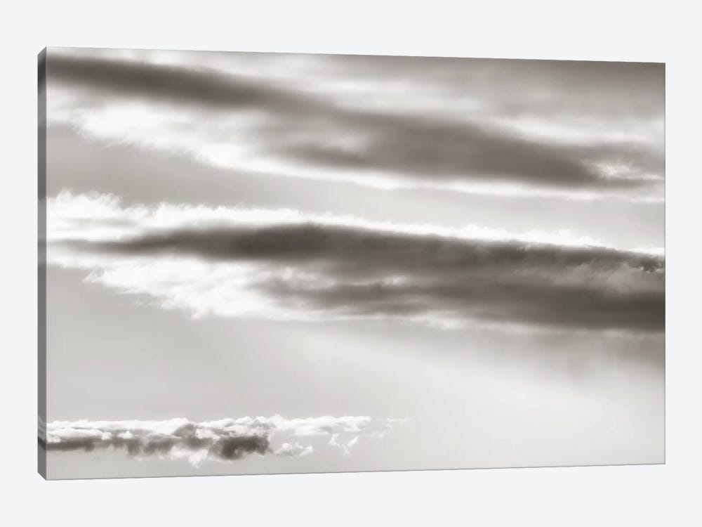 Black And White Cloud Formation by Savanah Plank 1-piece Canvas Artwork