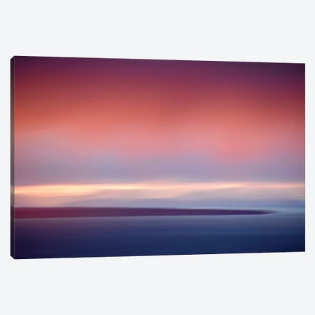Abstract Sunset IV Canvas Print #SVN6} by Savanah Plank Art Print