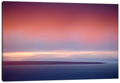 Abstract Sunset IV Canvas Art Print