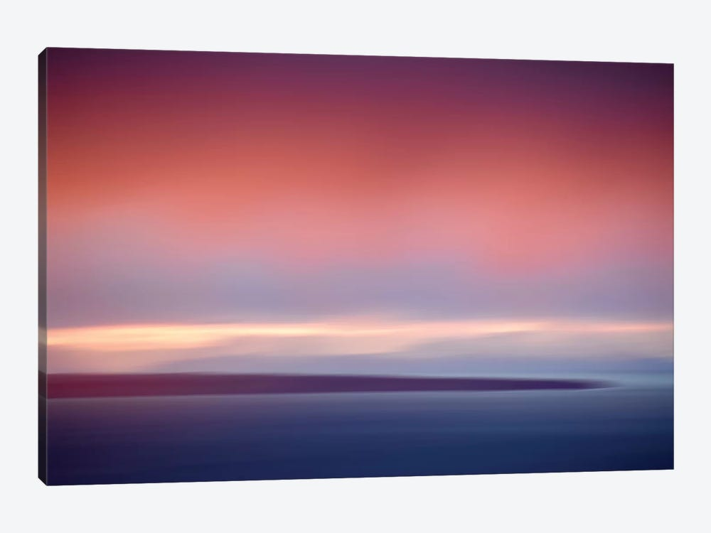 Abstract Sunset IV by Savanah Plank 1-piece Canvas Wall Art