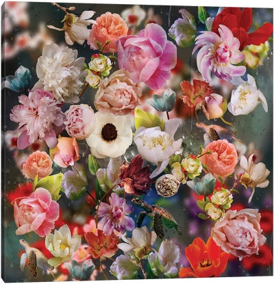 Edem Garden XI Canvas Art Print