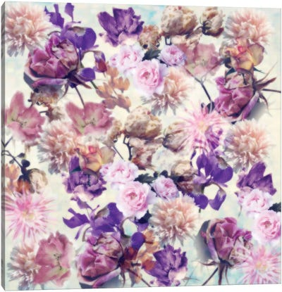 Floral Fantasy #1 Canvas Art Print