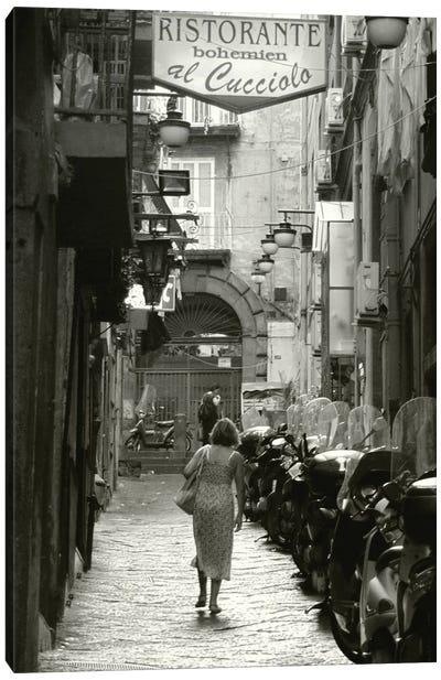 Naples Street I Canvas Art Print