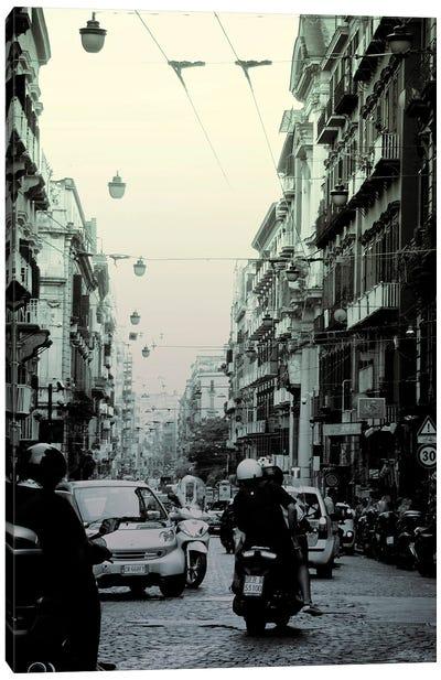 Naples Street II Canvas Art Print