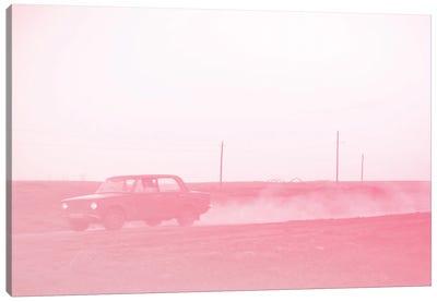 Pink Road Canvas Art Print