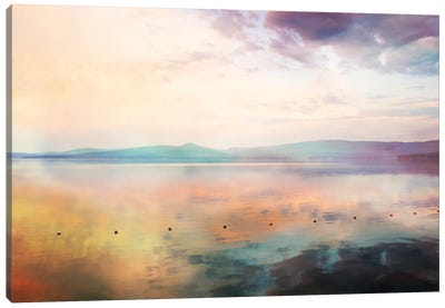 Pink Sunrise Canvas Art Print