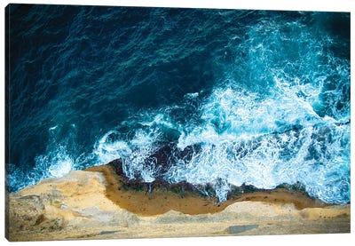Blue Waves I Canvas Art Print