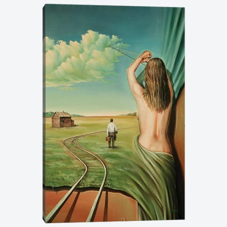 Deja Vu Canvas Print #SVS10} by Svetoslav Stoyanov Canvas Wall Art