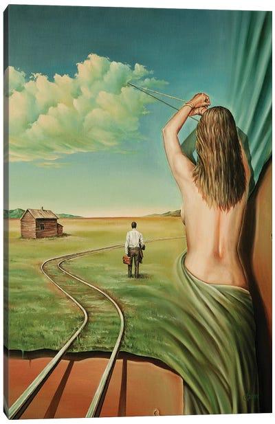 Deja Vu Canvas Art Print