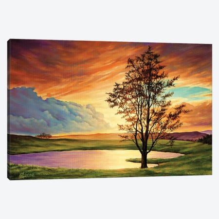 Piece Of Heaven Canvas Print #SVS25} by Svetoslav Stoyanov Canvas Wall Art