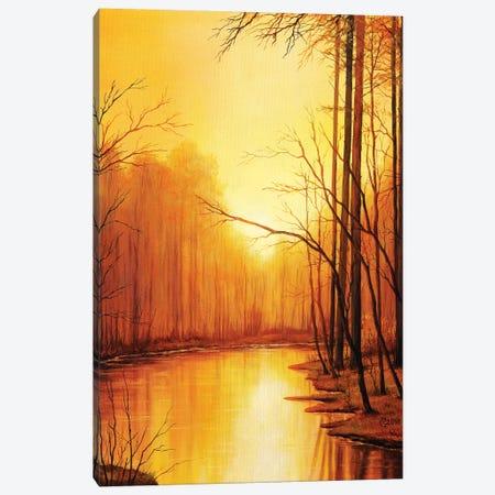 The End Of Autumn Canvas Print #SVS32} by Svetoslav Stoyanov Canvas Artwork