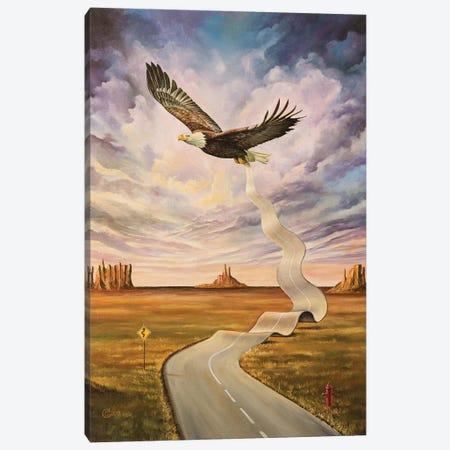 The End Of The Road Canvas Print #SVS33} by Svetoslav Stoyanov Canvas Artwork