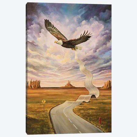 The End Of The Road Canvas Print #SVS33} by Svetoslav Stoyanov Canvas Artwork