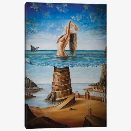The New Babylon Canvas Print #SVS34} by Svetoslav Stoyanov Canvas Art Print