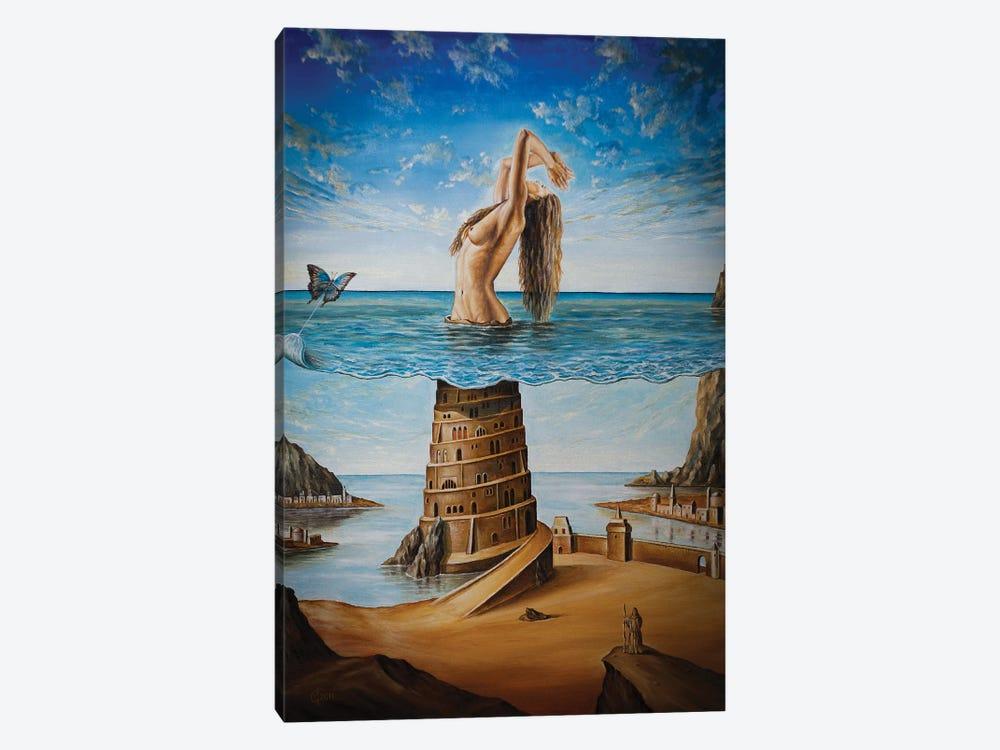 The New Babylon by Svetoslav Stoyanov 1-piece Canvas Wall Art