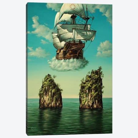 Back Home Canvas Print #SVS46} by Svetoslav Stoyanov Canvas Wall Art
