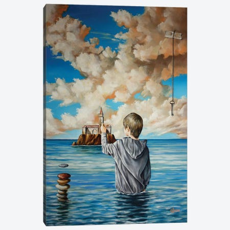 Creator Of Reality Canvas Print #SVS8} by Svetoslav Stoyanov Canvas Artwork