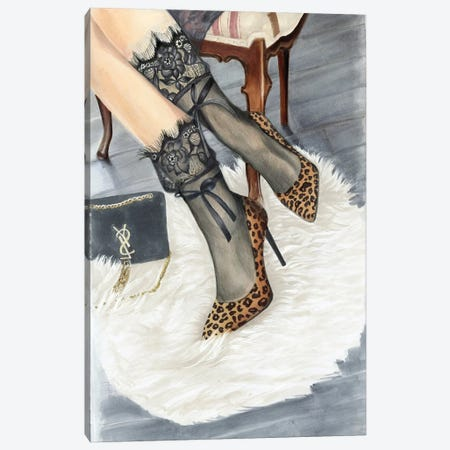 Glamor Canvas Print #SVT11} by Svetlana Balta Art Print