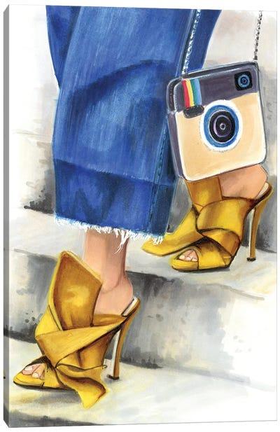 Insta Look Canvas Art Print