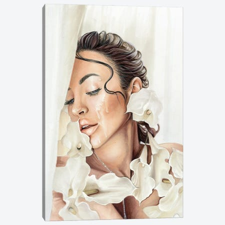 Yulia Canvas Print #SVT40} by Svetlana Balta Canvas Wall Art