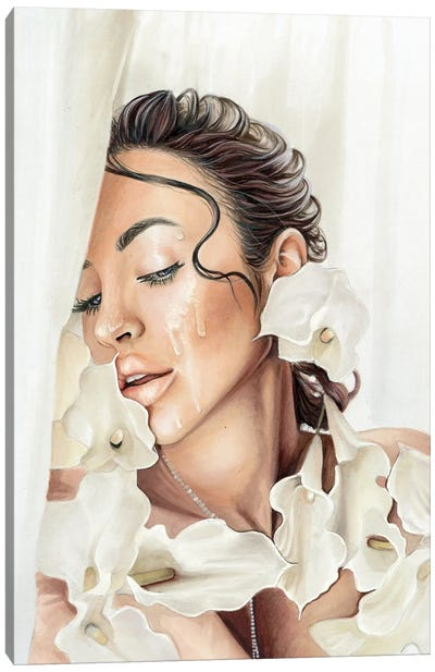Yulia Canvas Art Print