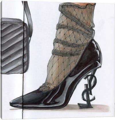 Yves Saint Laurent Canvas Art Print